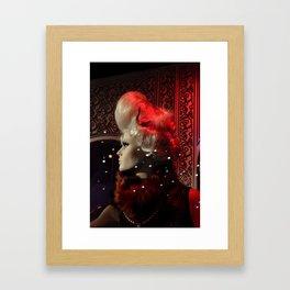 Lonely on the Dance Floor Framed Art Print