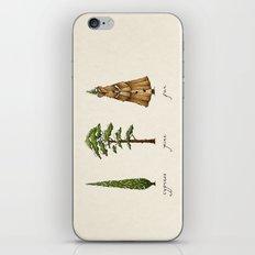 Fur Tree iPhone & iPod Skin