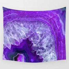 purple stone Wall Tapestry