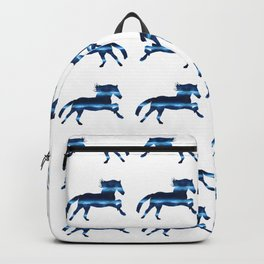 Blue Horse Backpack