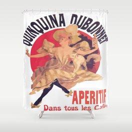 Quinquina Dubonnet Aperitif  Dans Tous Les Cafes Shower Curtain
