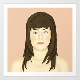 Orphan Black - Alison Hendrix Art Print
