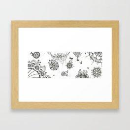 Travel Through Framed Art Print
