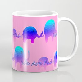 We Are Family - Elephants Coffee Mug