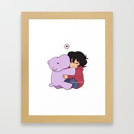 Keef Framed Art Print