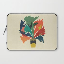 Potted staghorn fern plant Laptop Sleeve