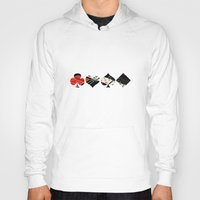 poker Hoodies featuring poker by yahtz designs