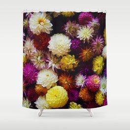 Pop Color Flowers (Color) Shower Curtain