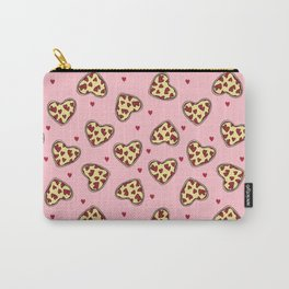 Pizza hearts cute love gifts foodie valentines day slices Carry-All Pouch