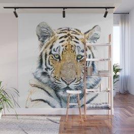 Tiger portrait Wall Mural