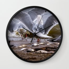 A Game of Chas Wall Clock
