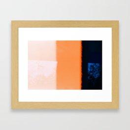 Accidental Exposure Framed Art Print