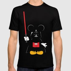 Darth Mickey Mens Fitted Tee Black LARGE