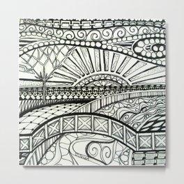 Tangled Land Metal Print