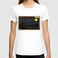 bible T-shirts featuring Bible School Lesson #1 by serloren