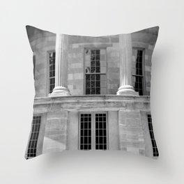 Merchants' Exchange of Philadelphia Throw Pillow
