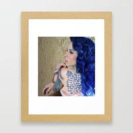Lace Me Up Framed Art Print