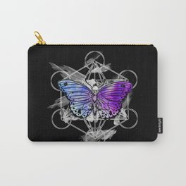 Geometric Butterfly Carry-All Pouch