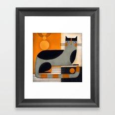 BLACK TOP Framed Art Print