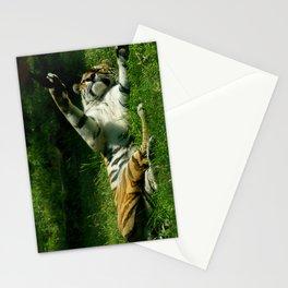 Resting Tiger Stationery Cards