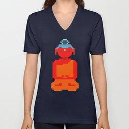 Calm Amitabha Unisex V-Neck