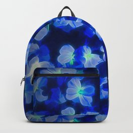 Blue Flower Backpack
