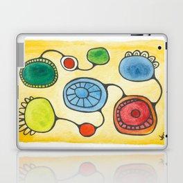 Watercolor Orbs N Lines 13 Laptop & iPad Skin