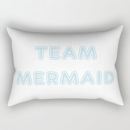 Team Mermaid Rectangular Pillow