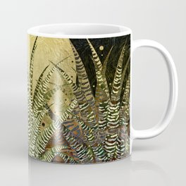 """Golden aloe Zebra midnight sun"" Coffee Mug"