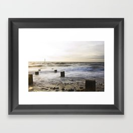 "Old Hunstanton Beach ""Ten"" Framed Art Print"