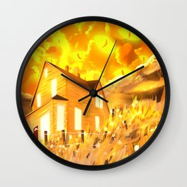 Look At The Sky, It's Looking Back  Wall Clock