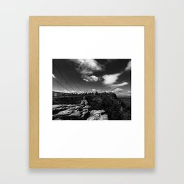 Grandfather Mountain Framed Art Print