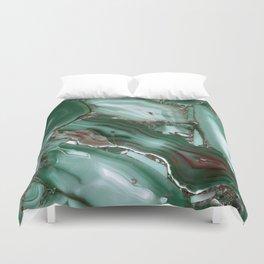 Luxury Malachite Marble Agate Duvet Cover