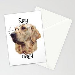Nerd Doggo Stationery Cards
