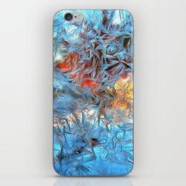 Frozen window iPhone Skin