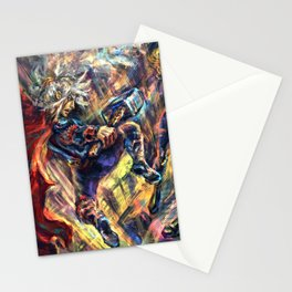 Warrior Trio Stationery Cards