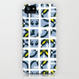 Geometric art pattern 5 iPhone Case