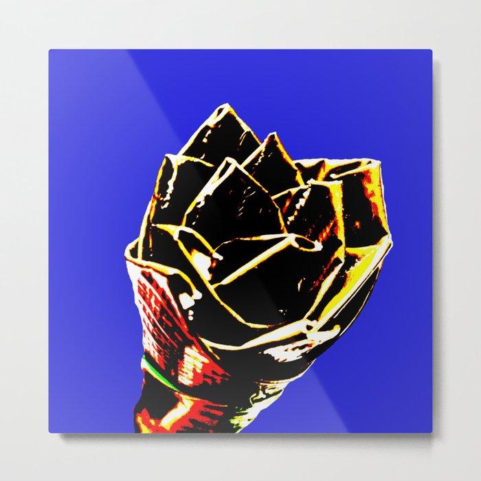 Solar Flower Metal Print