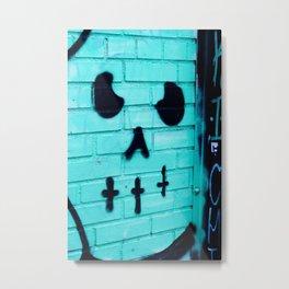 Graffito Metal Print