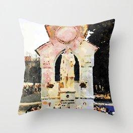 Catanzaro: tomb Throw Pillow