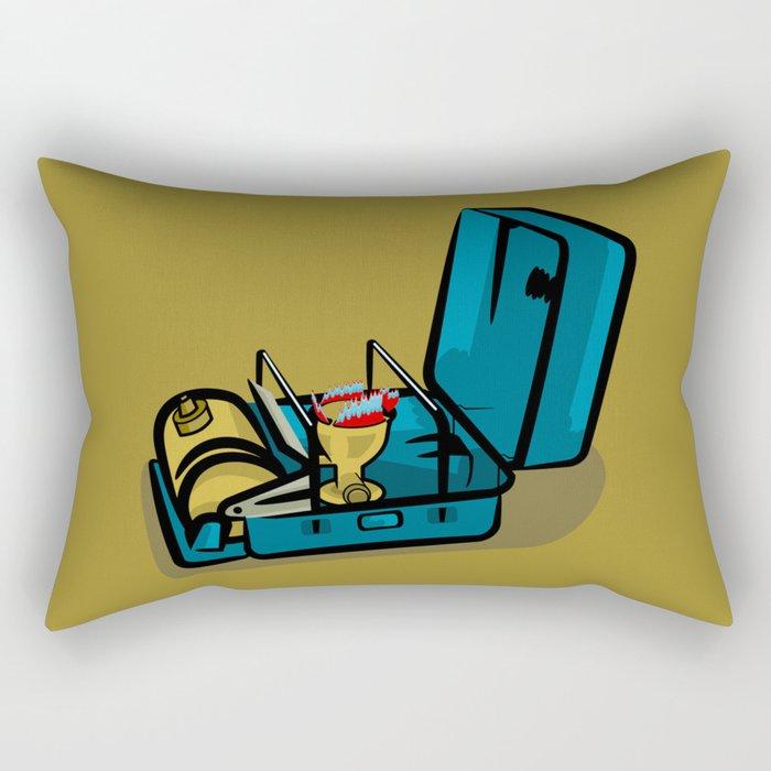 Retro Swedish Camp Stove Rectangular Pillow
