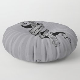 Don't Diss The Sonic Floor Pillow