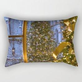 Beautifu christmas tree Rectangular Pillow