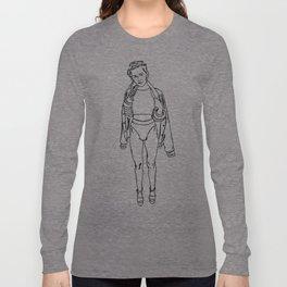Paint Ur Own Miley Long Sleeve T-shirt
