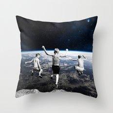 Free Faling Throw Pillow