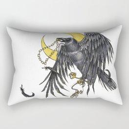 Raven Moon Rectangular Pillow