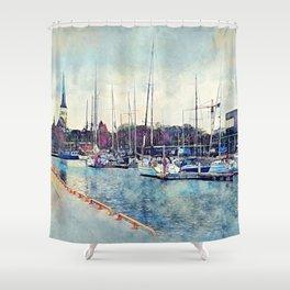 Tallinn Shower Curtain