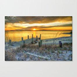 Orange Skys  Canvas Print