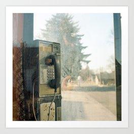 Payphone.  Art Print