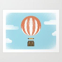 Montgolfier Art Print